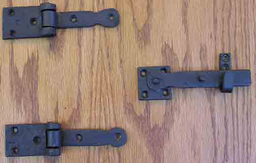 Barn Door Hinges And Latches How To Make Wooden Latches